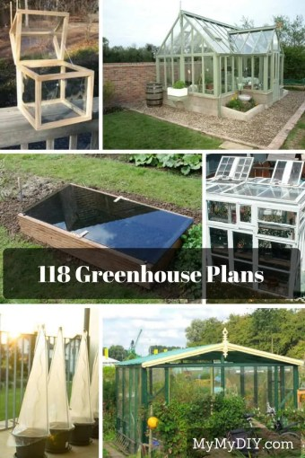 118 DIY Greenhouse Plans   MyMyDIY   Inspiring DIY Projects 118 DIY Greenhouse Plans