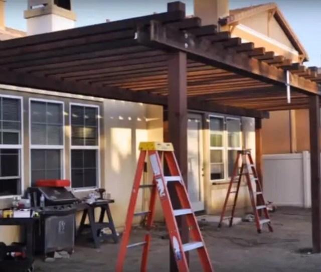The Simple Backyard Curved Pergola Plan