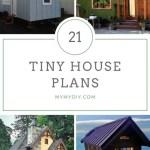 21 Diy Tiny House Plans Free Mymydiy Inspiring Diy Projects