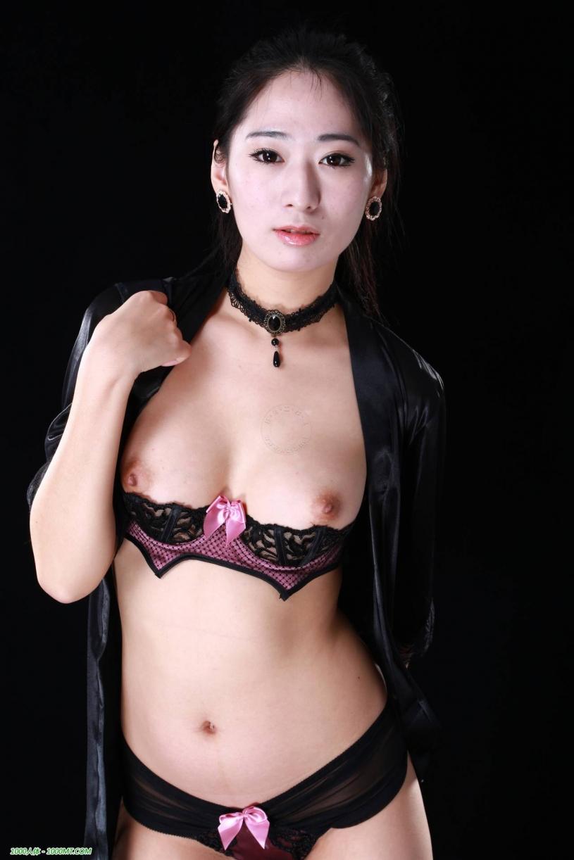 He Yun   Taiwan Model   Nude Art Set  Cosplay -1364