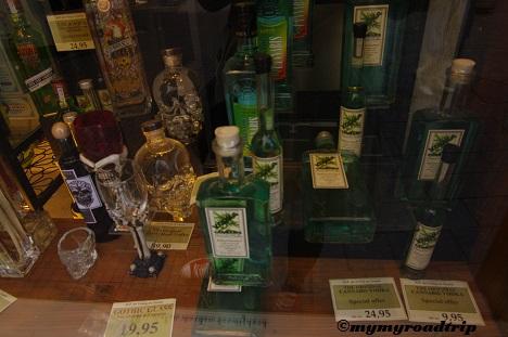 vitrine alcool
