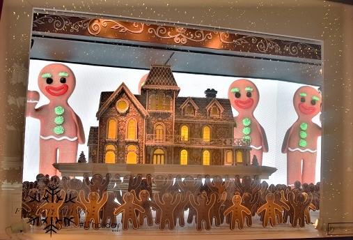 vitrine fêtes de noël à new york