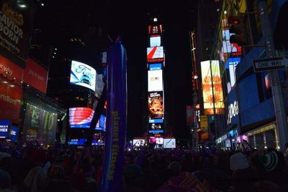 times square drop ball nouvel an