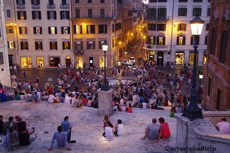 Rome de nuit