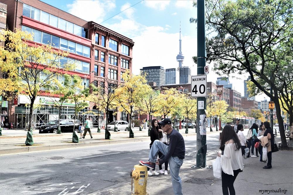 l'automne à Toronto