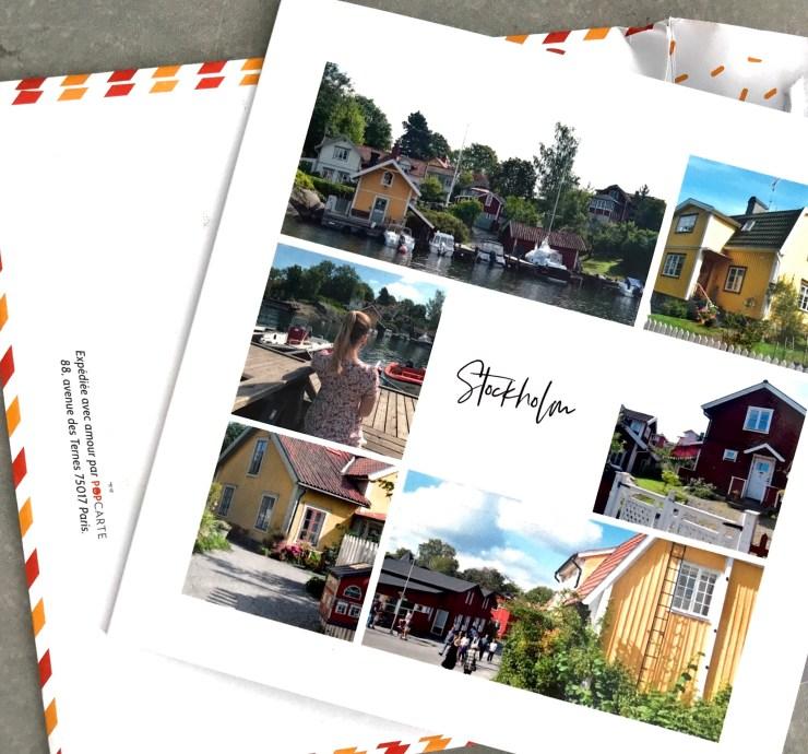 cartes postales pop carte