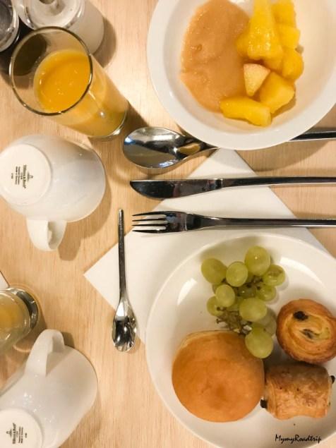 Heliopic Chamonix petit dejeuner