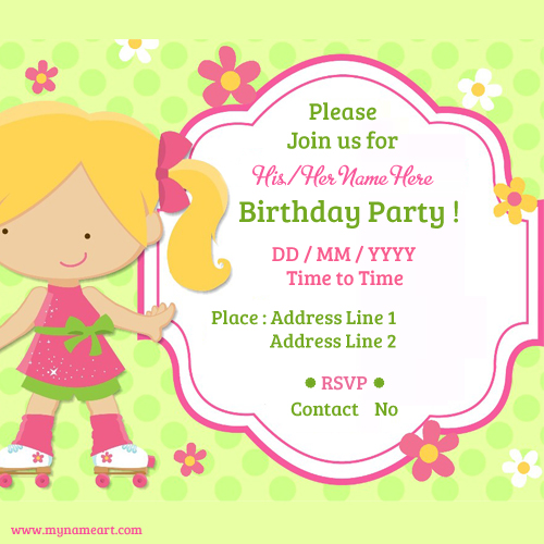 Invitation Card Maker