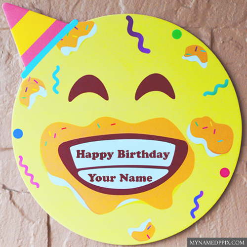 Happy Birthday Funny Cake With Name Write Image Editing Online My Name Pix Cards