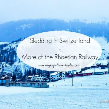 Sledding in Switzerland