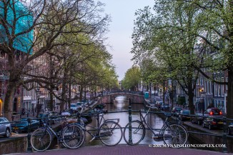Picture of Amsterdam canal