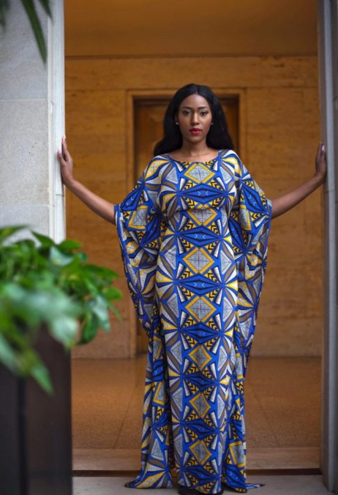 short boubou gown style