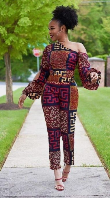 ankara jumpsuit for baby girl