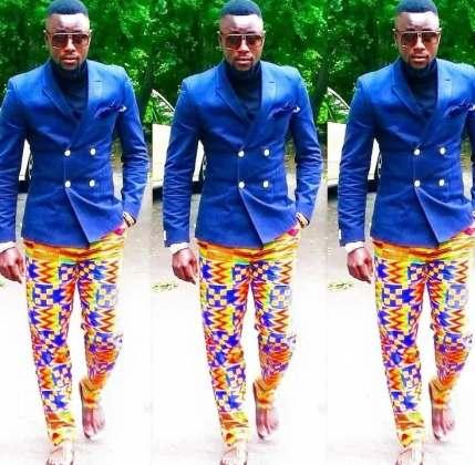 Jacket Ankara style