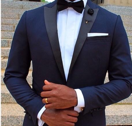 tuxedo suit