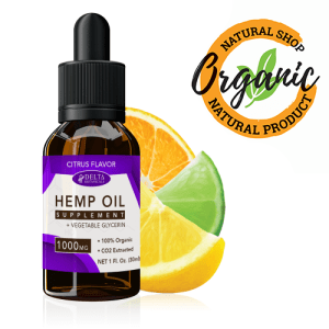 Supplement Hemp Oil Extract 1250mg for Pain Relief, Supports
