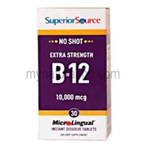 No Shot B12 10,000 mcg (Methylcobalamin)