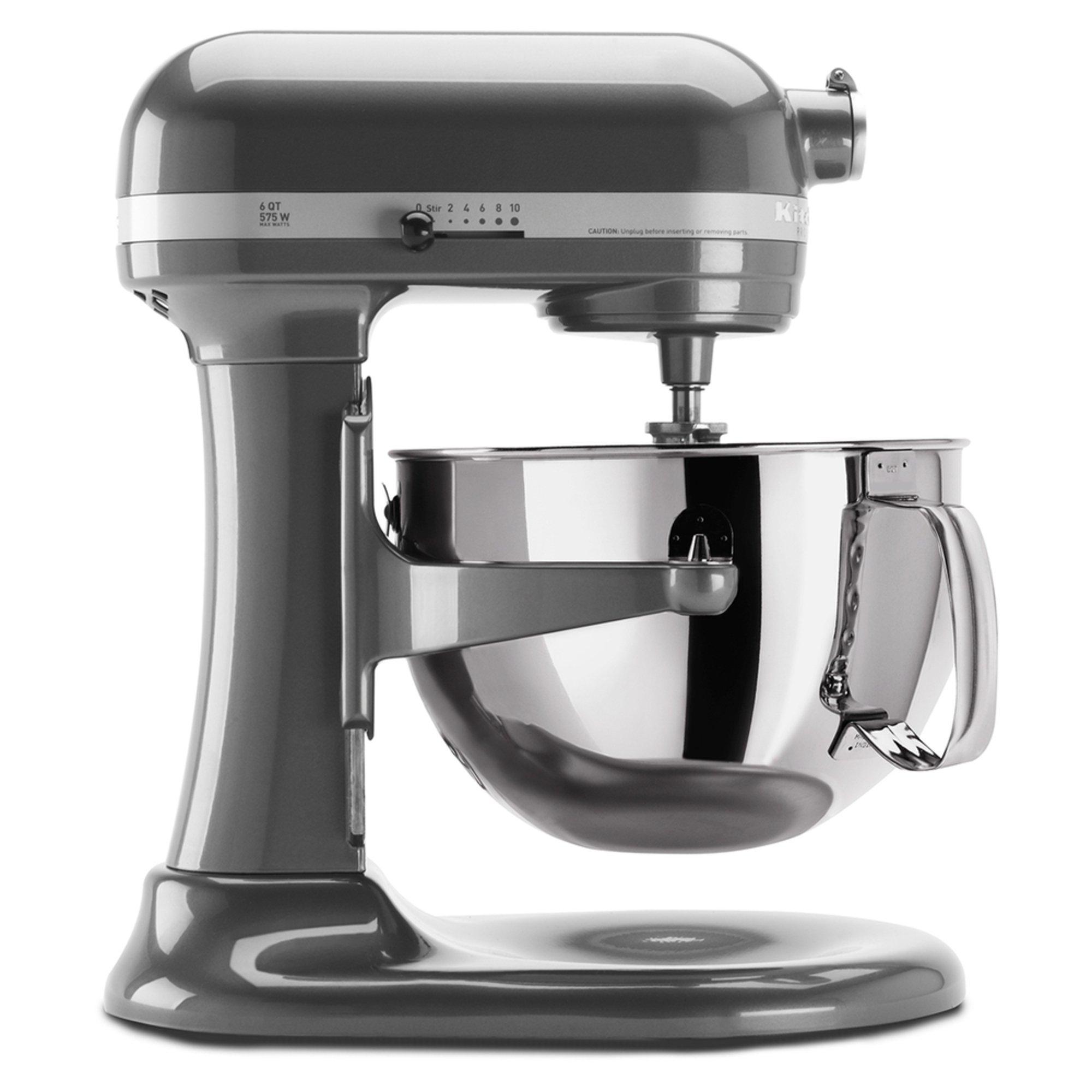 Kitchenaid Professional 600 Series 6 Quart Bowl Lift Stand Mixer Pearl Metallic Kp26m1xpm