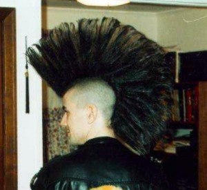 Very Tall Mohawk My New Hair