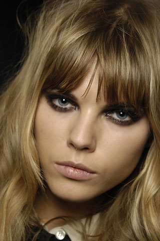 Maryna Linchuk Bangs Hair My New Hair