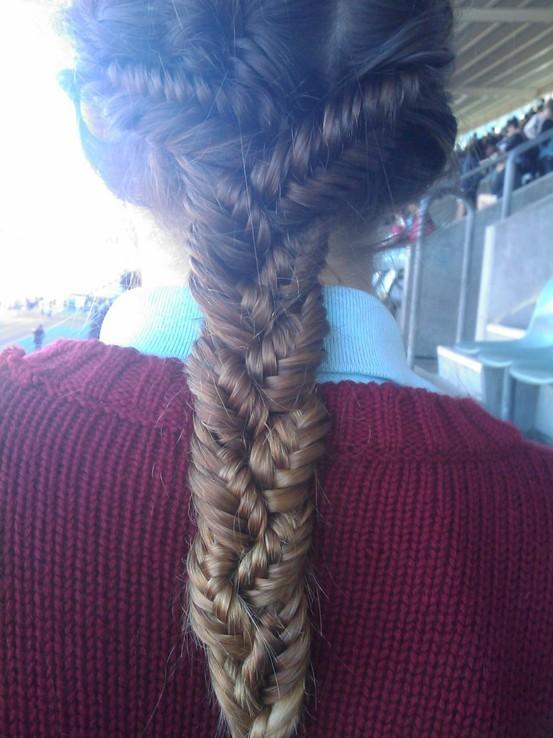 Crazy Fishtail Braid My New Hair