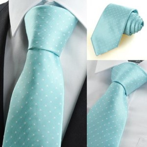 Coxeer Microfiber Men's Ties Necktie Classic Dot Tie for Wedding Formal Wear Business Dress