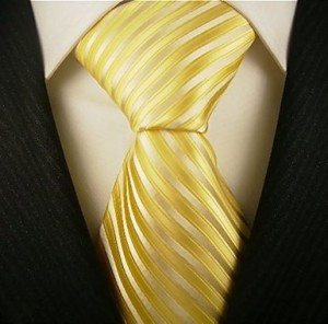 Scott Allan Men's Striped Necktie