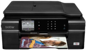 Brother MFC-J870DW Wireless Color Inkjet Printer with Scanner, Copier and Fax