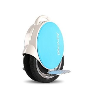 New Version Airwheel Q5 Dual Wheels More Stable Self Balancing Electric Unicycle Scooter with White Color