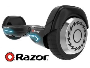 Razor Hovertrax 2.0 Self-Balancing Smart Scooter, Black