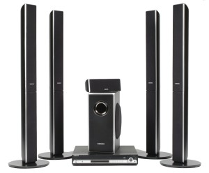 Samsung HT-TQ85 XM-Ready Five-Disc DVD Changer Home Theater System (5.1 Channel)