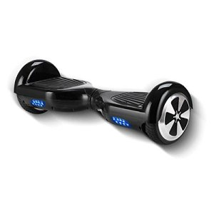 AUDEW 2 Wheels Mini Smart Self Balancing Electric Scooter Drifting Board with LED Light