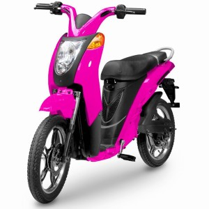 Addmotor 800w Electric Motor Scooter with 48v 20Ah Hidden Battery