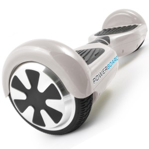 Powerboard by HOVERBOARD - 2 Wheel Self Balancing Scooter with LED Lights - Hands Free Battery Powered Electric Motor - The Perfect Personal Transporter - USA