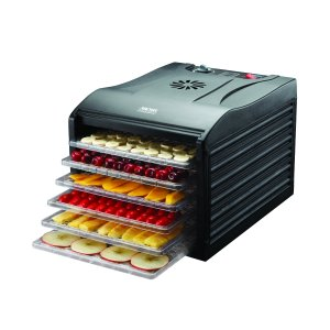 Aroma Professional 6 Tray Food Dehydrator, Black