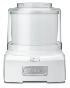 Conair Cuisinart ICE-21 1.5 Quart Frozen Yogurt-Ice Cream Maker (White)