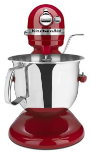 KitchenAid KSM6573CER 6-Qt. Professional 6000 HD Bowl-Lift Stand Mixer, Empire Red