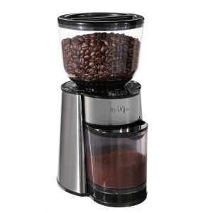 Mr. Coffee BVMC-BMH23 Automatic Burr Mill Grinder, BlackSilver