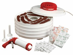 Nesco American Harvest FD-28JX Jerky Xpress Dehydrator Kit with Jerky Gun