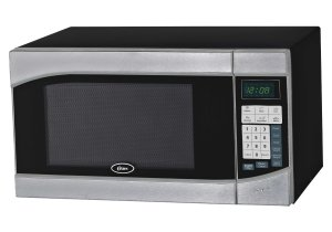Oster OGH6901 0.9 Cubic Feet 900-Watt Countertop Digital Microwave Oven, Stainless SteelBlack