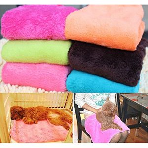 ACE Practical Soft Warm Pet Dog Cat Fleece Blanket with Random Color Delivery