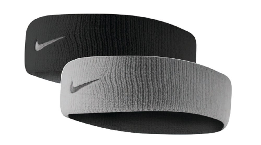 9ffd157c2446 ... top 10 best men s sweat headbands and wristbands for athletics in 2018  reviews you should buy.  10. NIKE Dri-Fit Home   Away Reversible Headband