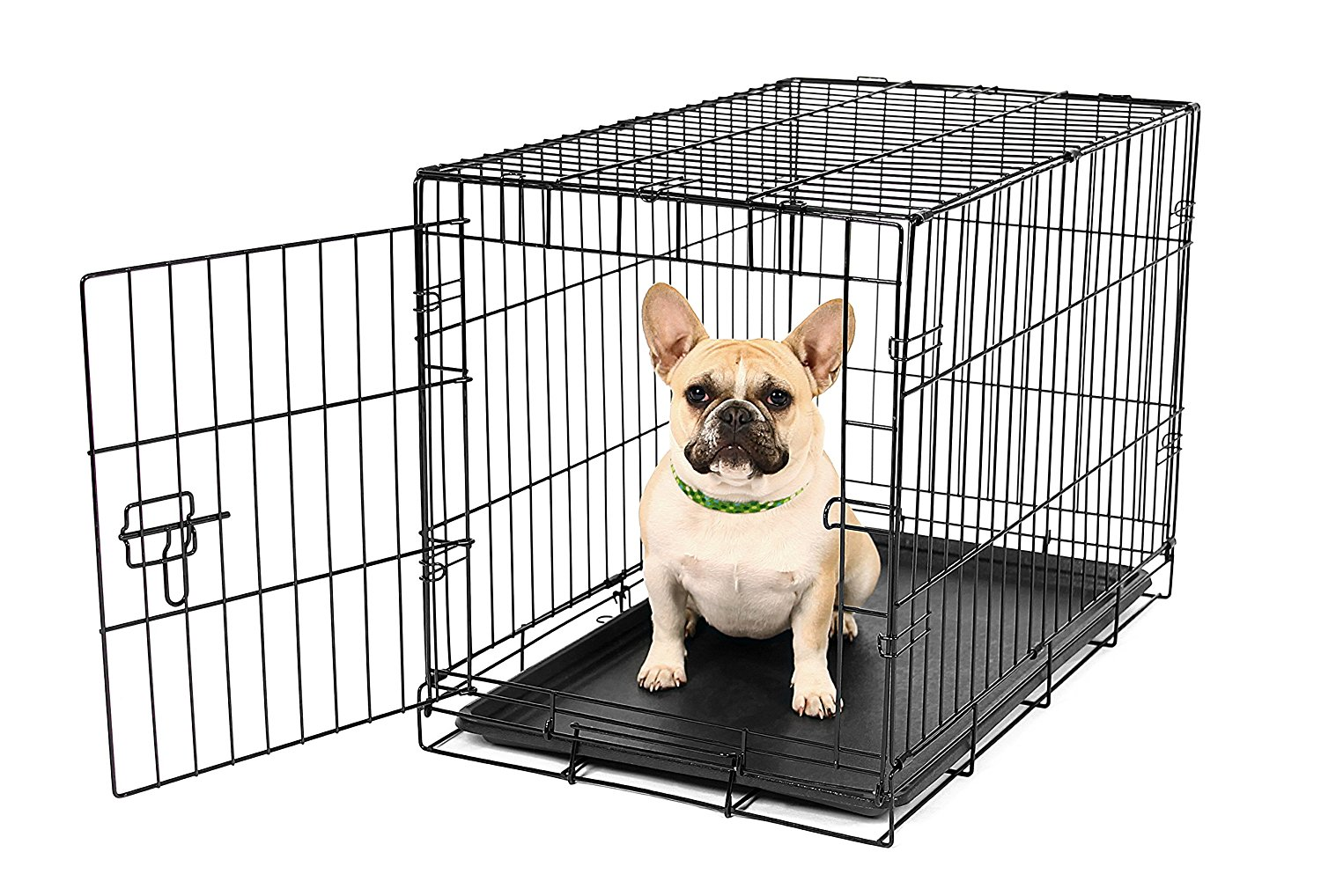Carlson Secure and Compact Metal Dog Crate