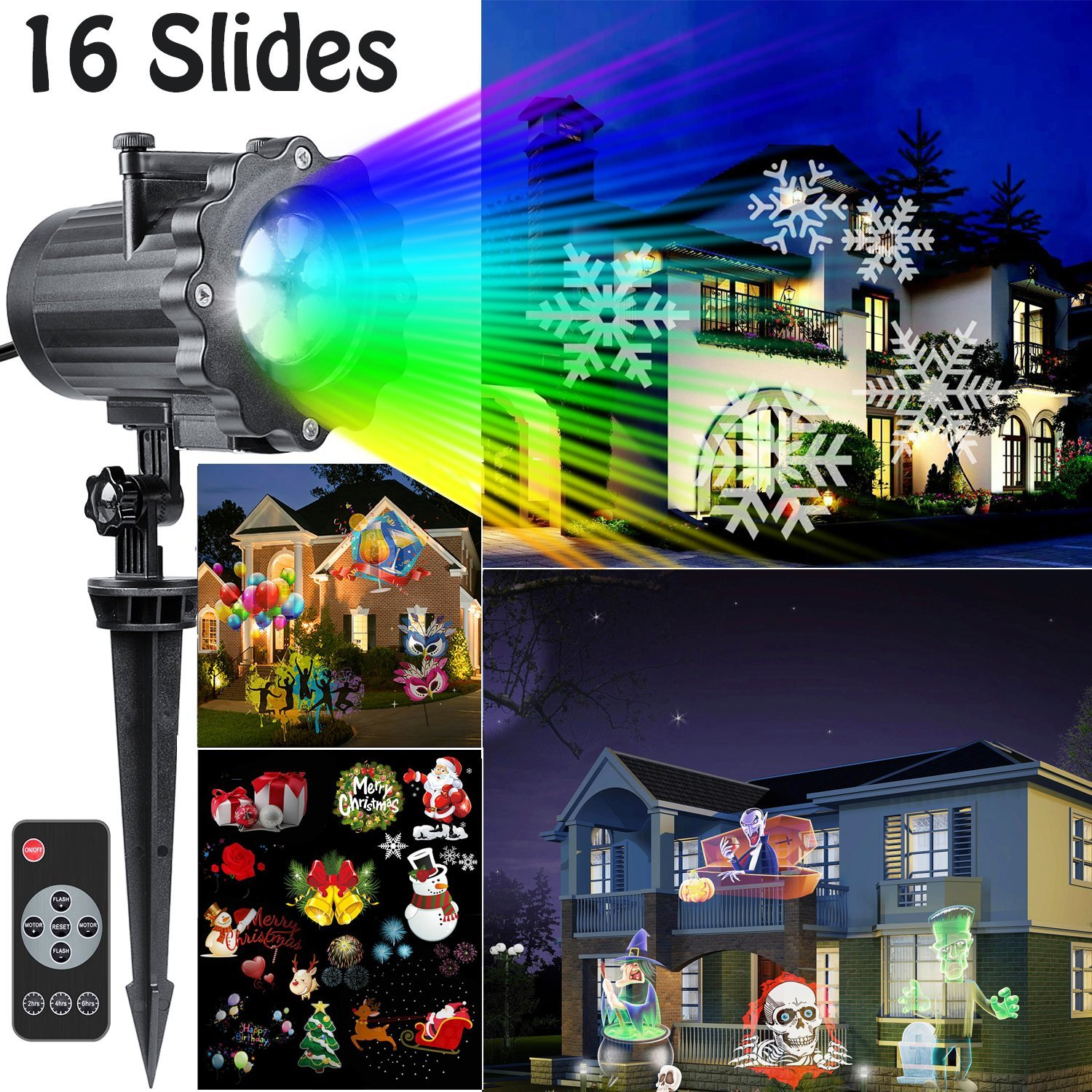 watch youtube garden light led lighting landscape lens lamp laser christmas patterns replaceable lawn projector