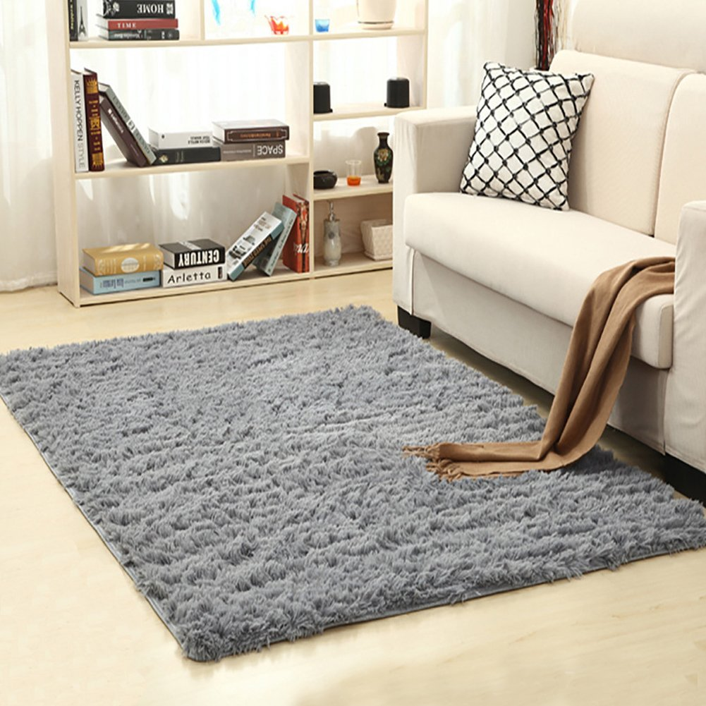 lochas ultra soft indoor modern area rugs fluffy living room - Carpet Living Room