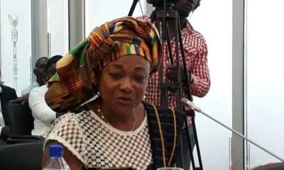Madam Otiko Afisa Djaba-Gender and Social Protection Minister
