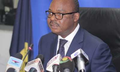 Governor of the Central Bank, Dr. Ernest Kwamina Yedu Addison