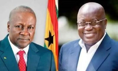 Mahama versus Akufo-Addo