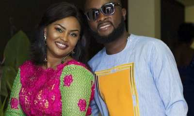 McBrown and Husband Mensah