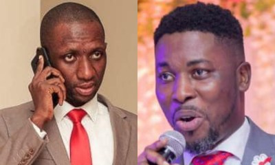 Kofi Ofosu Nkansah (L), Kwame Aplus (R)